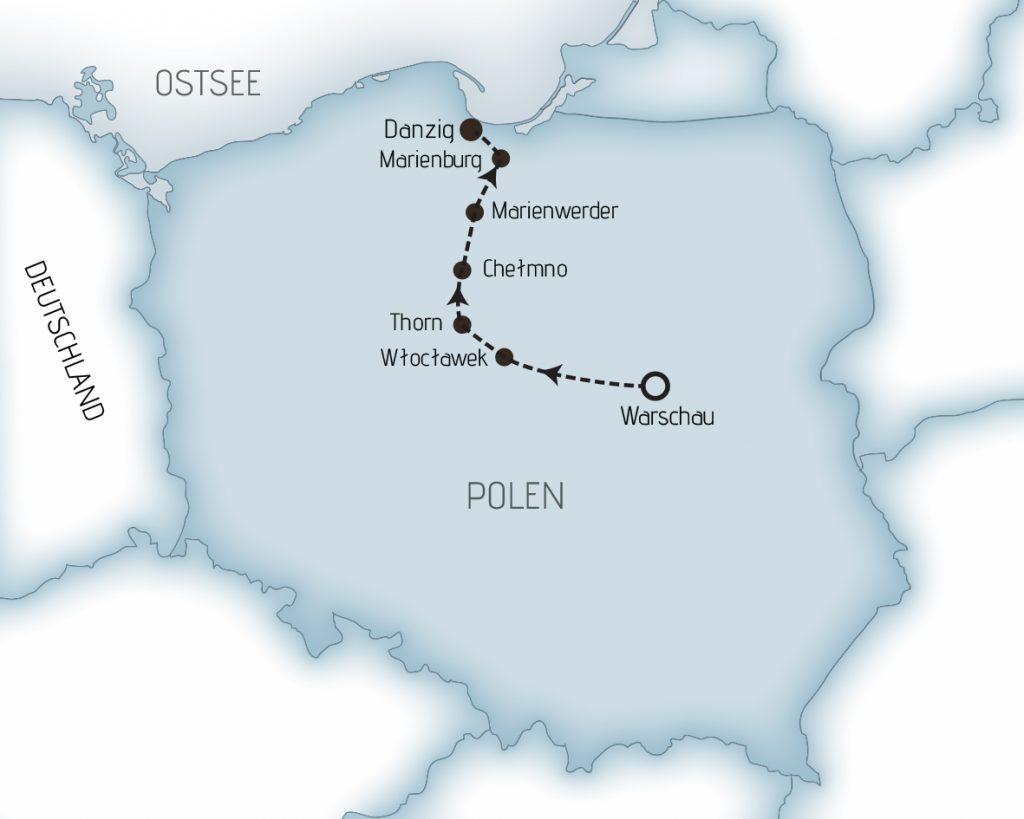 Karte WTDI
