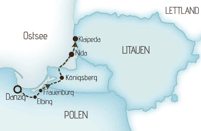 Karte GKM