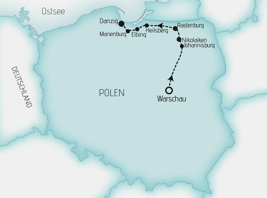 Karte MREI