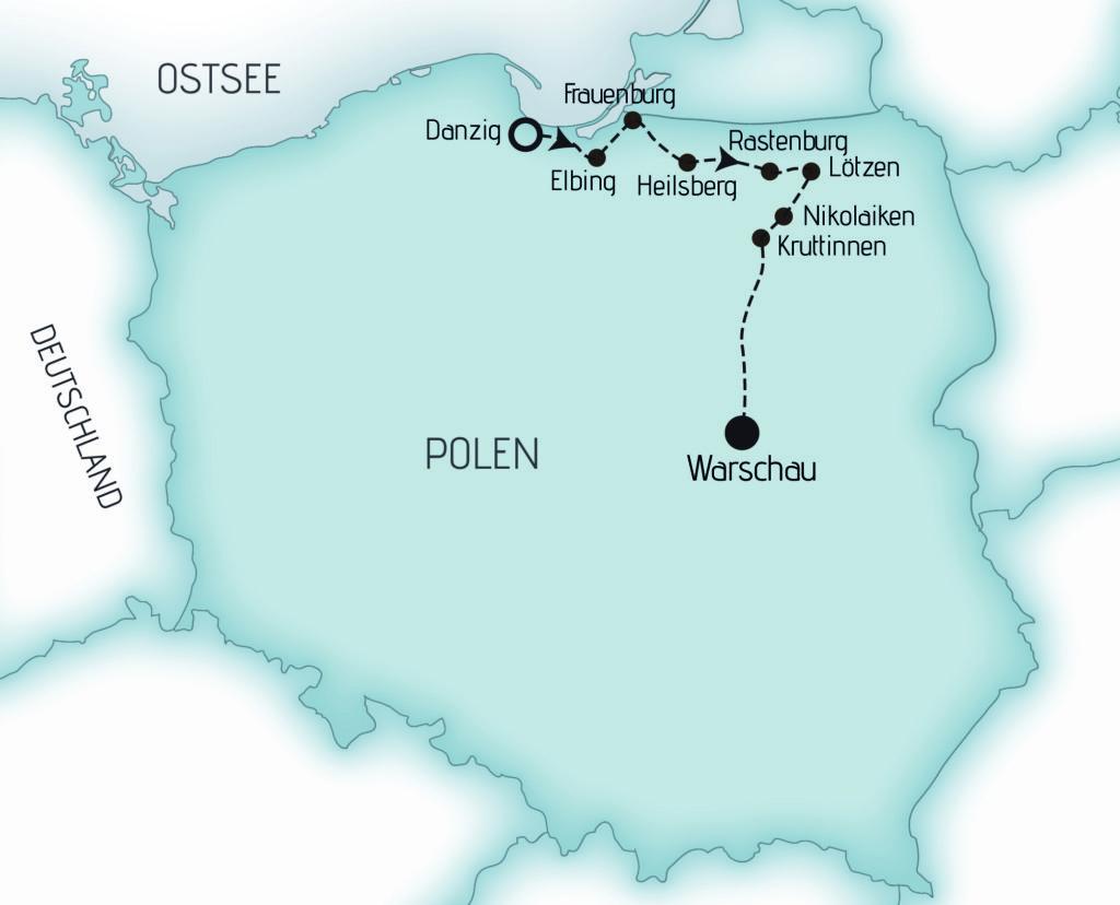 Karte ERMI